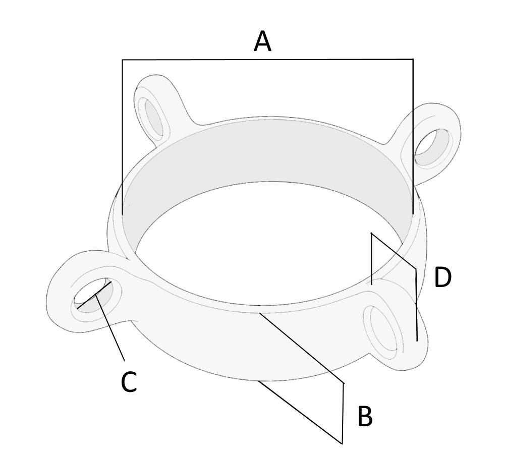 mast band four eye