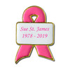 Custom Awareness Ribbon With Banner