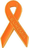 K28 Leukemia Awareness Ribbon Lapel Pin