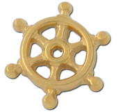 Ships Wheel Lapel Pin