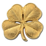 L10 - 4 Leaf Clover Lapel Pin
