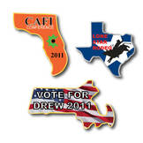 Custom Lapel Pins: Custom Pins in the Shape of Any US State
