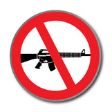 Ban Assault Weapons Pin