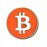Bitcoin Lapel Pin