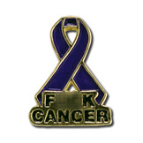 F Cancer Lapel Pin