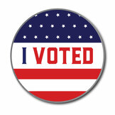 I Voted Lapel Pin