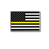 Thin Yellow Line Flag Lapel Pin