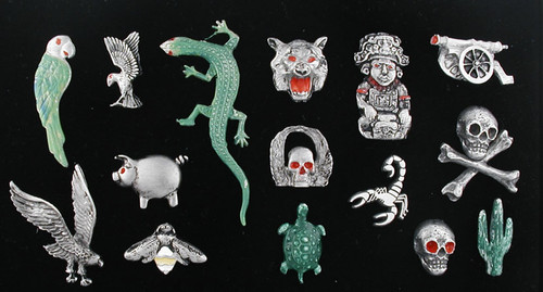 Motorcycle Assorted Pin Package #3A