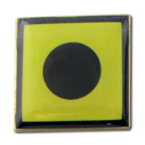 Nautical Flag Pin - Letter I - India