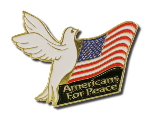 Americans for Peace Pins