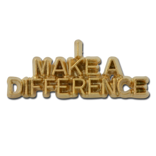 J07 - I Make a Difference Lapel Pin