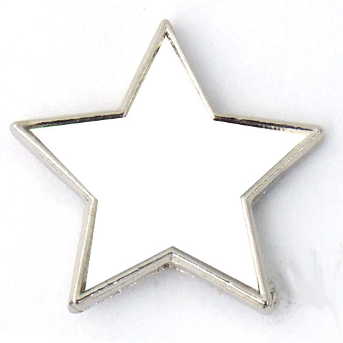 J34 - Colored Star Shaped Lapel Pin