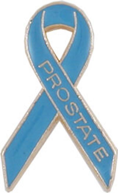 L26 Prostate Cancer Awareness Ribbon Lapel Pin