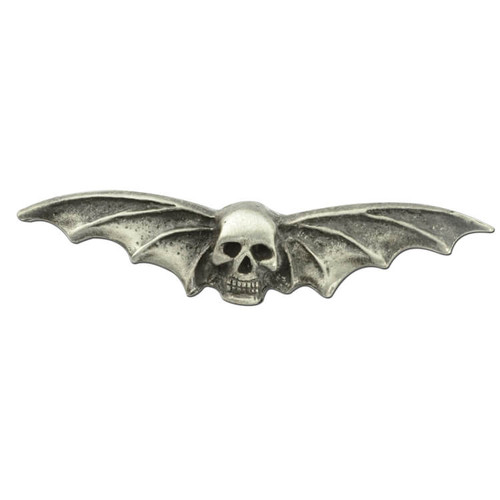 Skull With Wings Pin