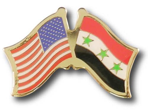 US / Iraq Crossed Flags
