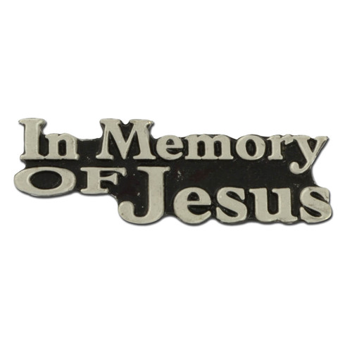 Memory of Jesus Lapel Pin
