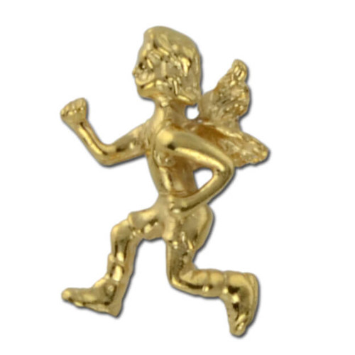 Running Angel Lapel Pin