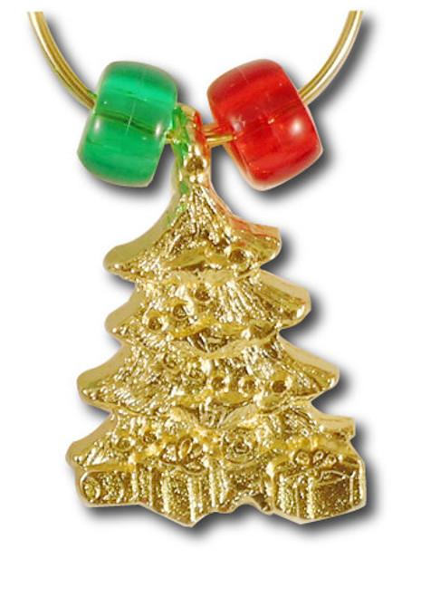 Christmas Tree Wine Charm - Single