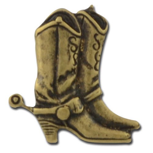M04 Western Boot Lapel Pin