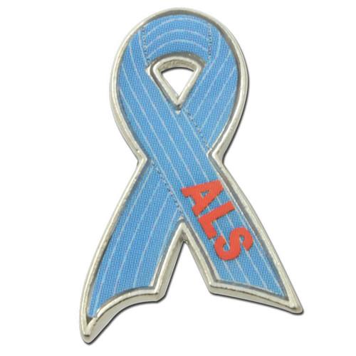 H30 ALS Lou Gehrig's Disease Ribbon Pin