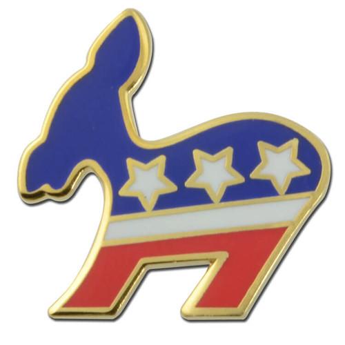 Democratic Donkey Lapel Pin