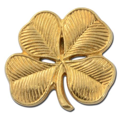 L10 - 4 Leaf Clover Lapel Pin