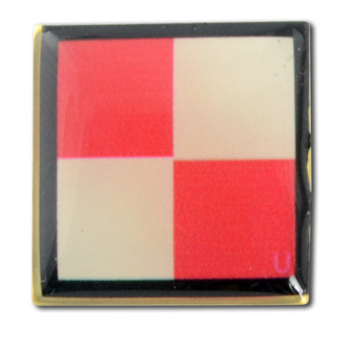 Nautical Code Flag Lapel Pin - U - Uniform