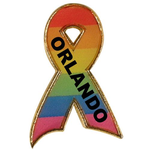 Orlando Support Ribbon Pin
