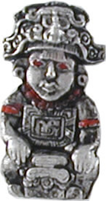 Aztec Warrior Lapel Pin
