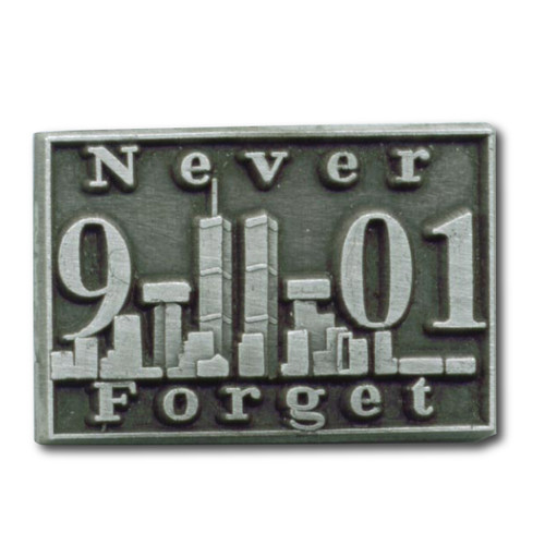 9-11-01 Never Forget Pin