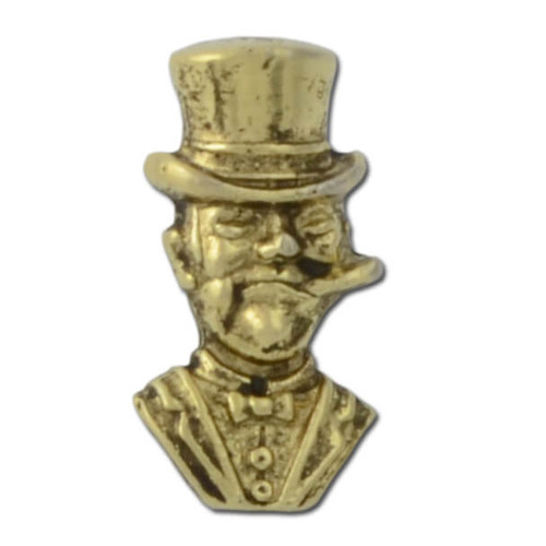 N03 Cigar Man Lapel Pin