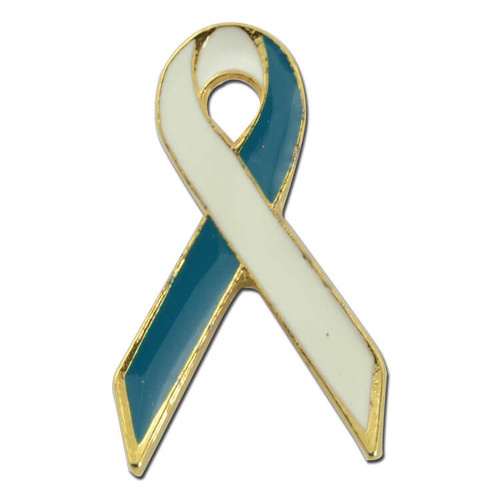 Cervical Cancer Ribbon Lapel Pin