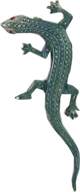 Gecko Lizard Pin