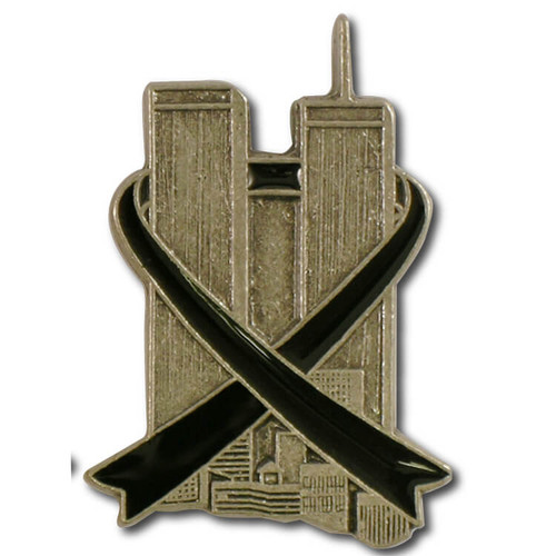 Twin Towers Lapel Pin