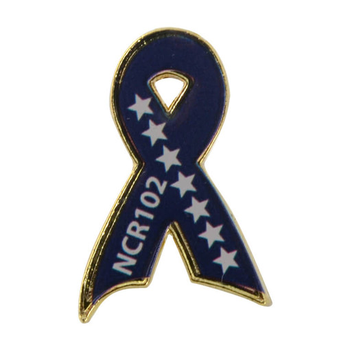 Custom Awareness Ribbon Lapel Pins: Custom Ribbon Lapel Pin