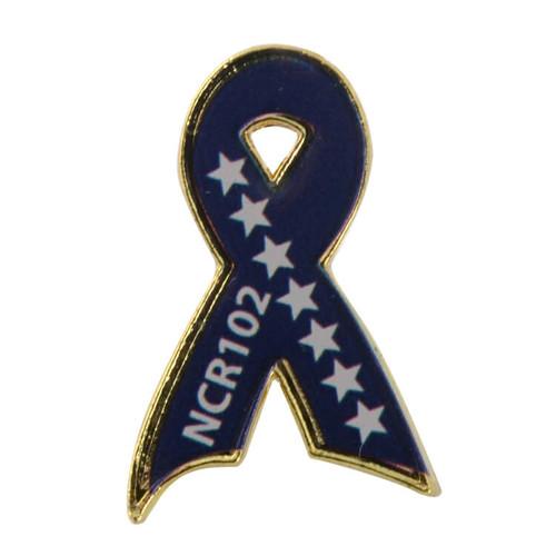 Custom Awareness Ribbon Lapel Pins: Custom Ribbon Lapel Pin