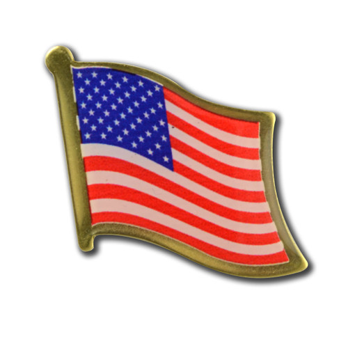 Made in America - US Flag Pin