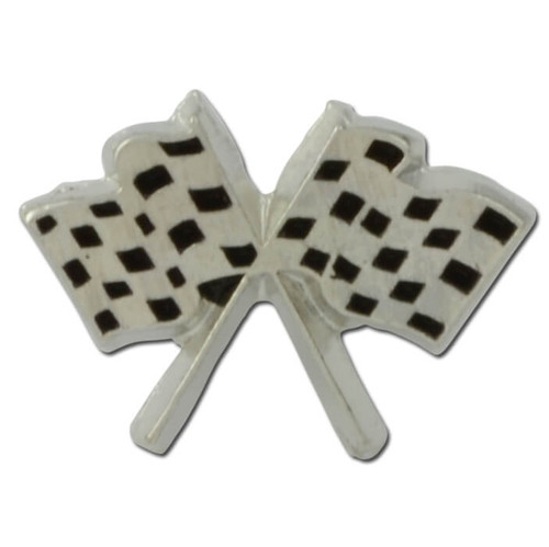 Checkered Flags Lapel Pin
