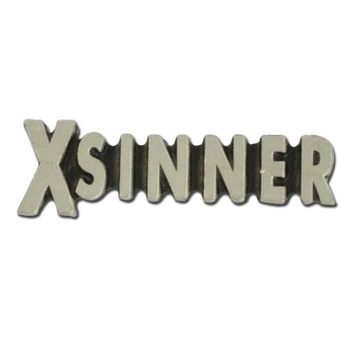 X Sinner Lapel Pin