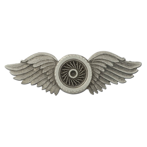 M33 Winged Wheel Lapel Pin