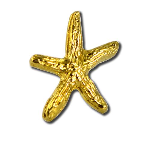 Starfish 4 Lapel Pin