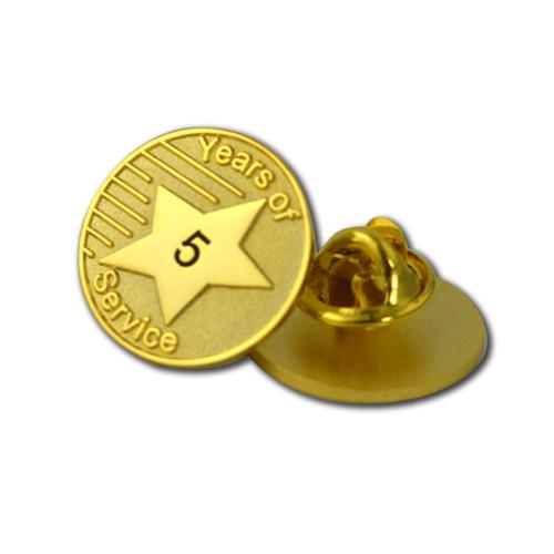 YOS - Years of Service Lapel Pin