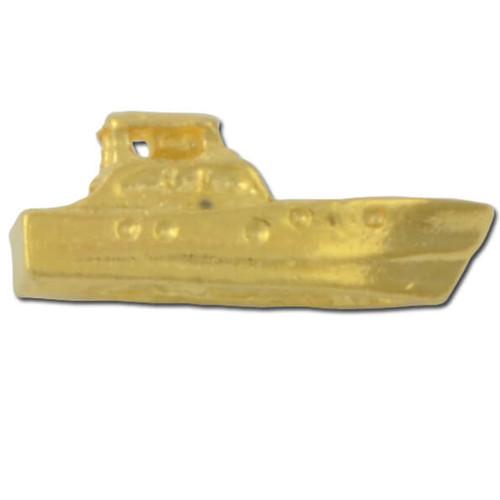 C20 Motor Boat Lapel Pin