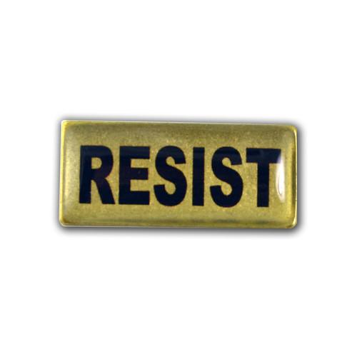 Resist Lapel Pin