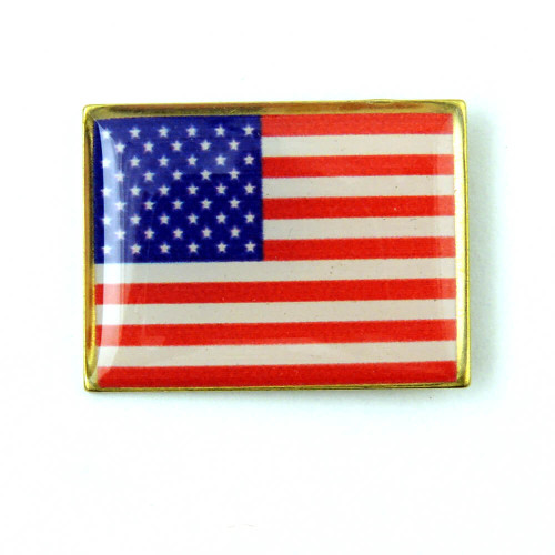 F24 - American Flag Pin Made in USA