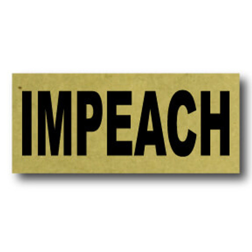Impeach Lapel Pin