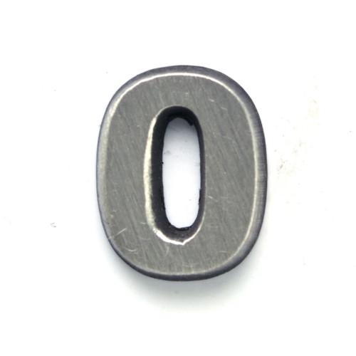 Number 0 Zero pin