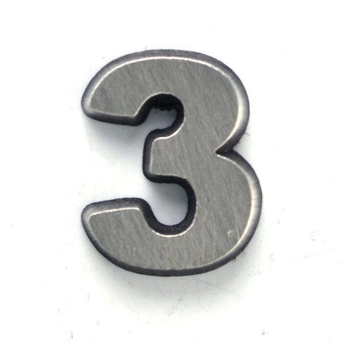 Number 3 Three pin