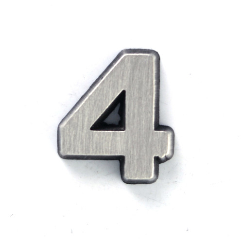 Number 4 Four pin
