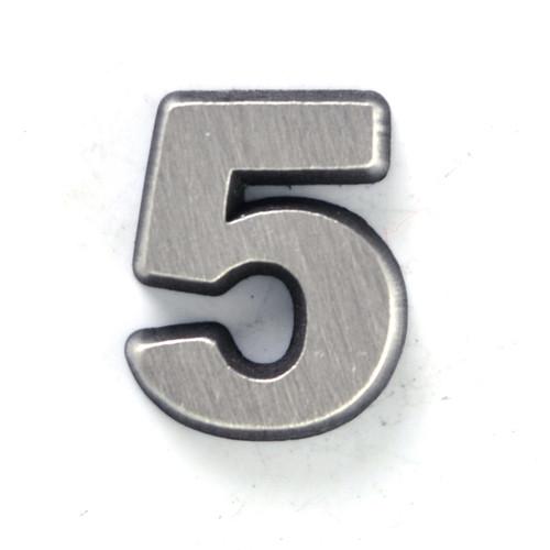 Number 5 Five pin